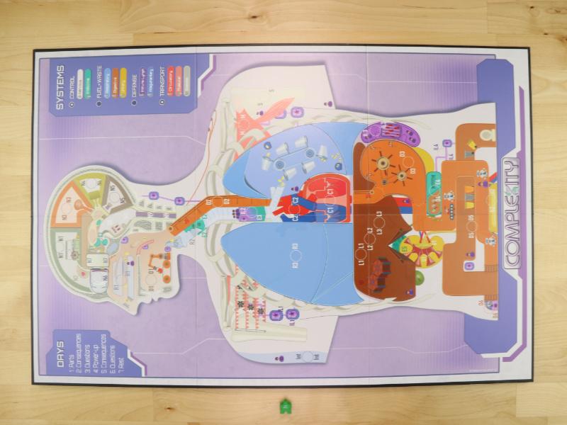 six fold game board